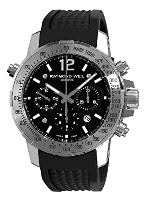 Raymond Weil Men's 7800-SR-105207 Nabucco Black Chronograph Dial Watch