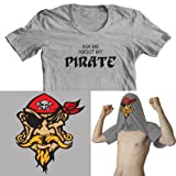 Ask me about my Pirate Kids Funny Flip Tee T-Shirt All Sizes