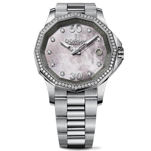 Corum Admiral's Cup Legend Femme Diamants 38mm Date Montre 082.101.47/V200 PK11