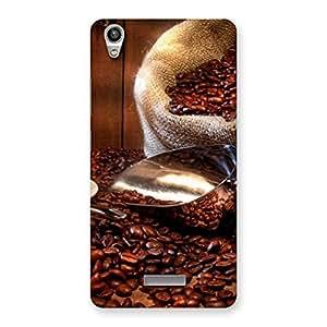 Ajay Enterprises Beans of cofie Back Case Cover for Lava-Pixel-V1
