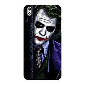 Stylish Joke Sneeking Multicolor Back Case Cover for HTC Desire 816s