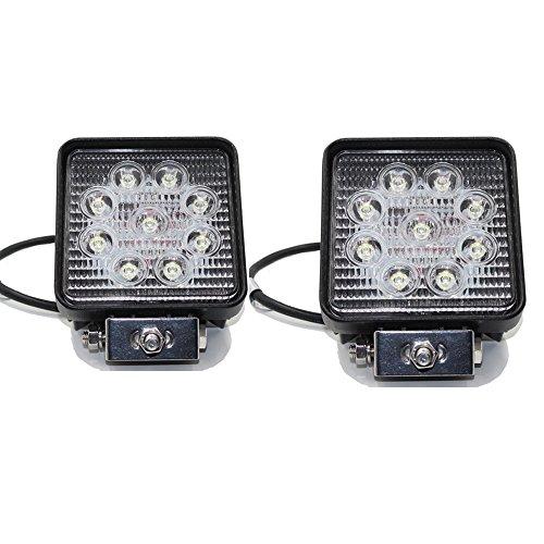 27w Led Work Light : Rolinger pcs quot inch spot beam square w led work light