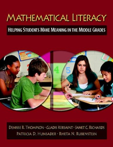 Mathematical Literacy: Helping Students Make Meaning in...