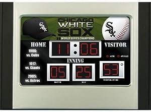 Chicago White Sox MLB Scoreboard Desk & Alarm Clock by Unknown