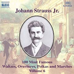 Strauss II, J.: 100 Most Famous Works, Vol. 6
