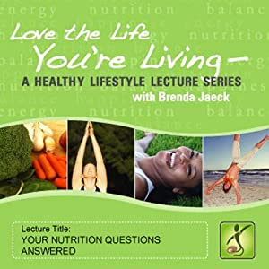 Your Nutrition Questions Answered Speech