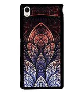 Fuson Premium 2D Back Case Cover Floral Pattern With yellow Background Degined For Sony Xperia M4 Aqua::Sony Xperia M4 Aqua Dual