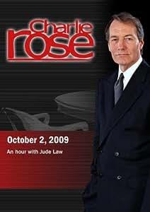 Charlie Rose - Jude Law (October 2, 2009)