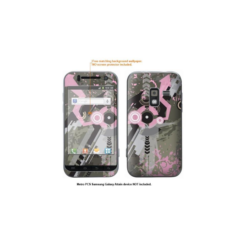 Protective Decal Skin Sticker for Metro PCS Samsung Galaxy Attain 4G case cover Attain 399