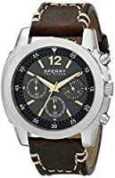 Sperry Top-Sider Men's 10014916 Pilot Analog Display Japanese Quartz Brown Watch from Sperry Top-Sider Watches MFG Code