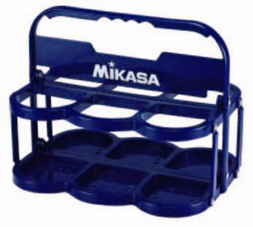 Mikasa ボトルキャリアー (6 pieces) Blue folding squeeze bottle 6 book set-friendly BC6-BL