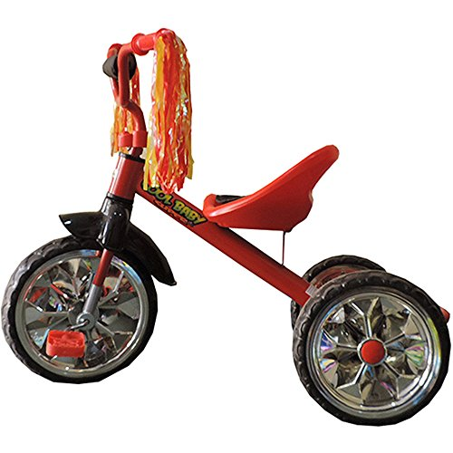 Brunte TR07 Tricycle, Red