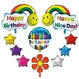 誕生日 飾り付け アルミ風船 飾り グッズ バースデー バルーン 男の子 女の子 ハート