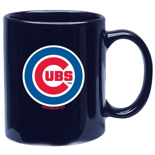 Chicago Cubs 11 oz. Royal Coffee Mug by Hunter at Amazon.com