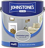 Johnstones Vinyl Matt 5L Manhattan Grey