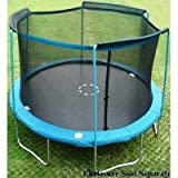 14' New *Ultra* Trampoline Safety Net, Fits All Brands of 3 Arch/sleeve Enclosure Trampolines