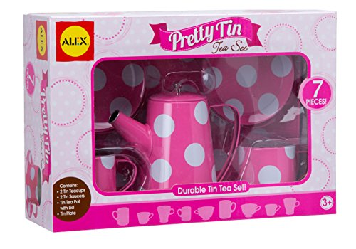 ALEX Toys Pretty Tin Tea Set