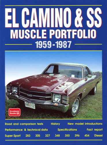 Chevy El Camino and SS, 1959-1987