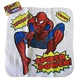 White Spider Sense Spiderman Wash Cloth Hand Towel