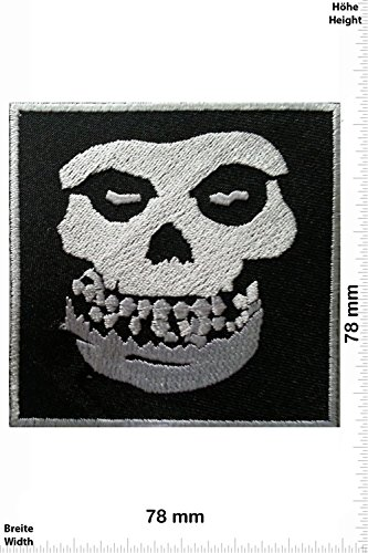 Patch - MISFITS - MusicPatch - Rock - Chaleco - toppa - applicazione - Ricamato termo-adesivo - Give Away