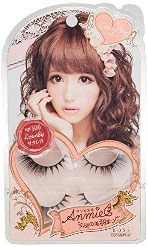 Anne miel eyelash 100 (Lovely)...