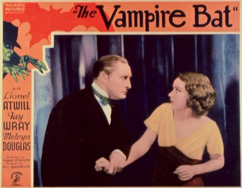 The Vampire Bat Vintage Movie Poster