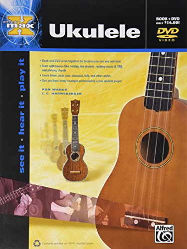 Alfred's Max Ukulele Method (Instructions Not Included Dvd compare prices)