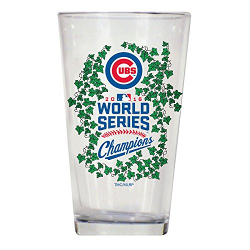 Chicago Cubs 2016 World Series Champions 16oz. Mixing Glass with Ivy (Cubs Beer Glasses compare prices)