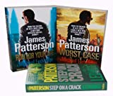 James Patterson Michael Bennett Novel 3 Books Collection Set (Worst Case: A Detective, Run For Your Life, Step on a Crack)