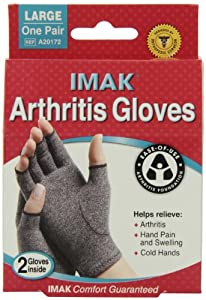 Imak  Arthritis Gloves Large (Pack of 2)