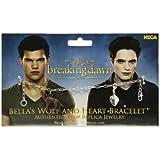 Twilight Breaking Dawn Part 2 Bellas Wolf and Heart Bracelet Prop Replica