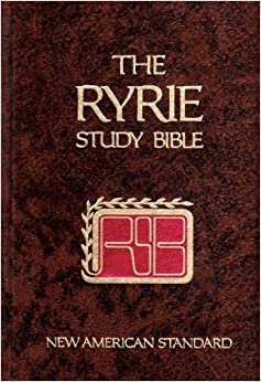 Ryrie Study Bible New American Standard Charles