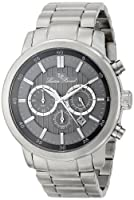 Lucien Piccard Men's LP-12011-104 Monte Viso Analog Display Japanese Quartz Silver Watch from Lucien Piccard