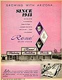 1962 Ad Rene Reducing Modeling Beauty Weisland John Doris Ladies Facility charm - Original Print Ad