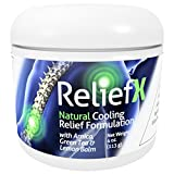 4oz ReliefX By Naturo Sciences ™ Natural Topical Cream For Temporary Pain Relief for Joints and Muscle Discomfort