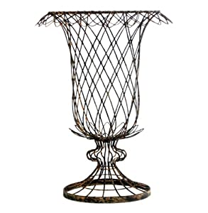 Amazon Com Pair French Country Urn Shaped Tulip Basket