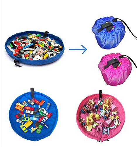 Xidaje Rug Box For Lego Doll 45Cm Light Children Play Mat Storage Bag Toys front-944203