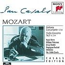 Mozart: Sinfonia Concertante, K. 364; Violin Concerto No. 5, K.219