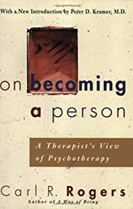 "Cover of ""On Becoming a Person:  A Therap..."