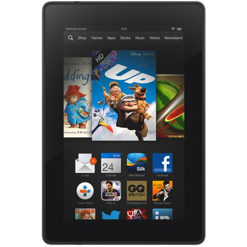 "Kindle Fire HD 7"", HD Display, Wi-Fi, 8 GB - Includes Special Offers - 21st Birthday Your Birthdays - Electronics"