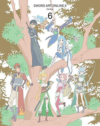【Amazon.co.jp限定】ソードアート・オンラインII 6(クリアブックマーカーver.6付) (完全生産限定版) [Blu-ray]