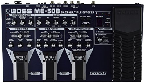 Boss ME-50B Bass Multi Effects (Slow Gear Pedal compare prices)
