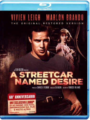 A streetcar named desire (versione originale restaurata) (+book) [Blu-ray] [IT Import]