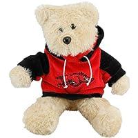 "Arkansas Razorbacks 8"" Fuzzy Hoody Bear by Forever Collectibles"