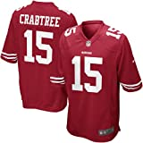 Michael Crabtree San Francisco 49ers Red NFL Youth Nike Home Replica Jersey (X-Large 18/20)