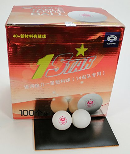Yinhe 1 star 40 table tennis balls training pack of 100 for 1 star table tennis balls