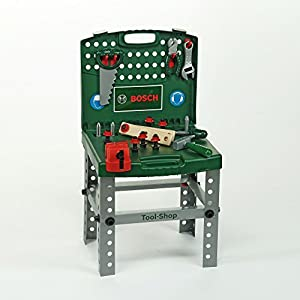 theo klein bosch toy tool shop green toys games. Black Bedroom Furniture Sets. Home Design Ideas