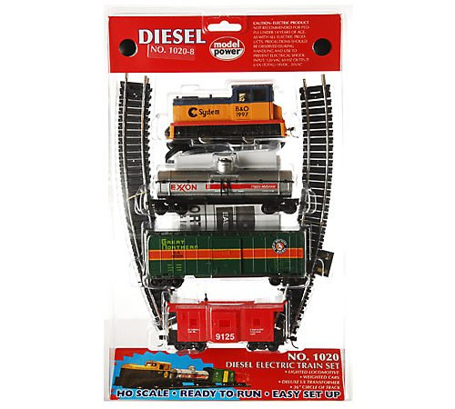 HO Diesel Train Set, Chessie
