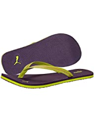 Puma Women's Jade II Wn's Ind. Purple Magic and Green Rubber Flip-Flops and House Slippers -3 UK