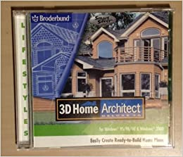 3d Home Architect Deluxe 3 0 For Windows 95 98 Me Windows 2000 The Learning Company
